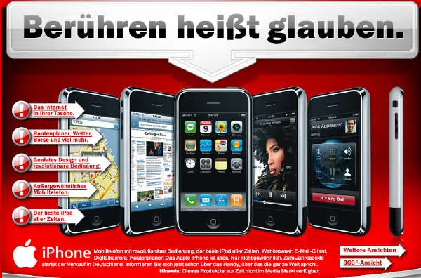 Iphone Media Markt Deutschland